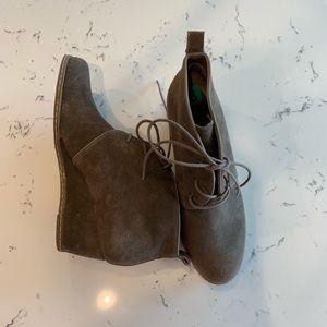 Franco Sarto Suede Boots size 8